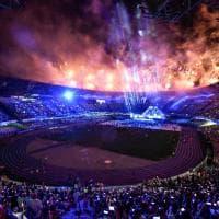 Universiade, le emozioni della cerimonia: fotoreportage dai fuochi allo spettacolo