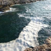 Schiuma galleggiante nel mare di Sorrento, l'allarme del Wwf