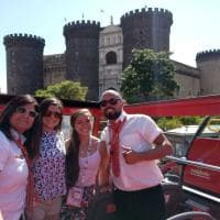 Gli atleti dell'Universiade in giro per Napoli con il  City Sightseeing