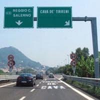 Salerno, chiusura notturna su A3 per attività manutenzione
