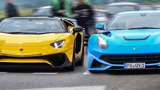 Ferrari e Lamborghini on-line,scoperta truffa nel Napoletano