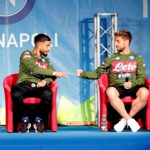 """Calcio Napoli, Insigne: """"James è un vero 10 ma le scelte spettano a club e allenatore"""""""