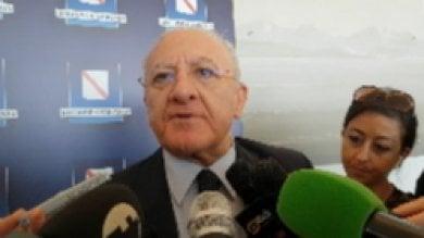 """Autonomia, De Luca: """"Vogliono spostare    60 miliardi dal Sud al Nord"""""""