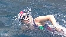 A nuoto da Salerno a Positano   l'ultima sfida di Silvia Boidi
