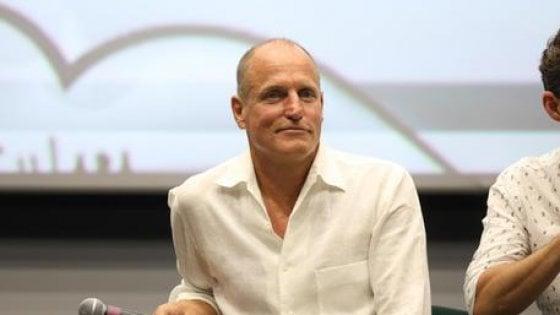 """Harrelson al Giffoni Film Festival: """"Vorrei fare un film con Sorrentino"""""""