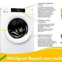 """Whirlpool di Napoli, la guerra dei manifesti: """"Operazione verità"""""""