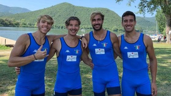 Mondiali Under 23 di canottaggio, il Circolo Savoia conquista 4 medaglie