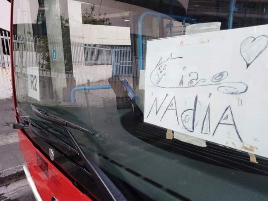 Gli autisti Anm salutano Nadia Toffa