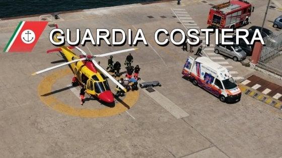 Donna incinta in elicottero da Ischia a Castellammare