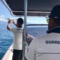 Cilento, droni e motovedette per trovare il turista francese disperso da