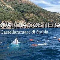 Punta Campanella, barca affonda con 9 persone: a bordo anche due bambini.