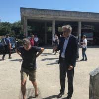 Anche il padre di Simon e l'ambasciatore di Francia in Cilento per le ricerche