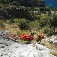 Cilento, recuperato il corpo di Simon, il turista francese trovato morto in un burrone