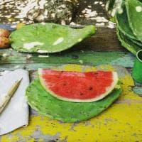 Ischia, palette di fico per piatti e canne di bambù per forchette: d'estate la tavola è green