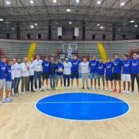 Napoli basket, primo giorno di allenamento al Palabarbuto