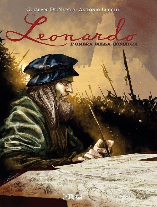 Ecco le tavole di Leonardo, artista e detective in un giallo storico