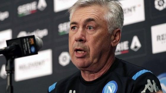 """Napoli, Ancelotti esce allo scoperto: """"Mercato da 10, vogliamo vincere lo scudetto"""""""