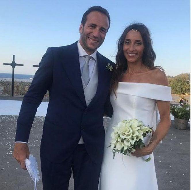 Ischia, il sì della campionessa olimpica: Elisa Di Francisca sposa Ivan