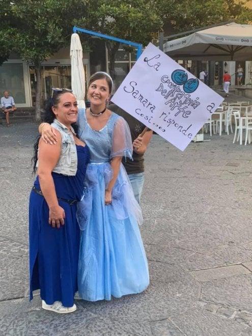 Salerno, ecco la risposta al Samara Challenge: per strada spuntano le Cenerentole