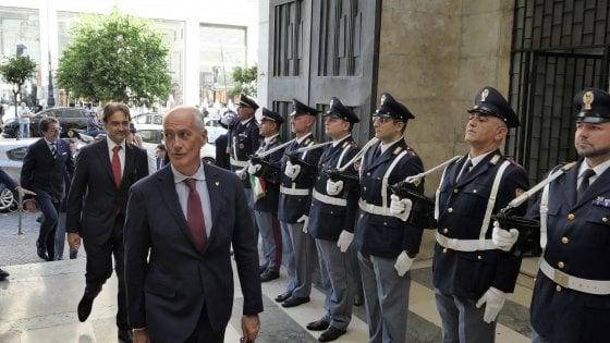 """Gabrielli: """"Salvini con le magliette della polizia... la gente non è idiota, ma non mi sono sentito offeso"""""""