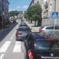 Potenza, suona la prima campanella: traffico in tilt