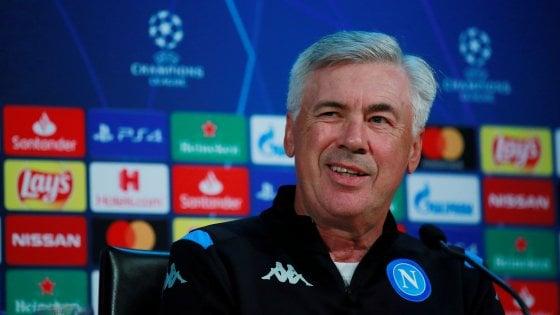 """Napoli, Ancelotti: """"Liverpool favorito, ma test eccitante"""""""
