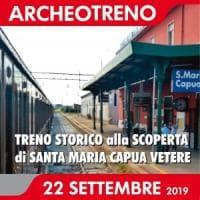 L'Archeotreno Campania fa tappa a Santa Maria Capua Vetere