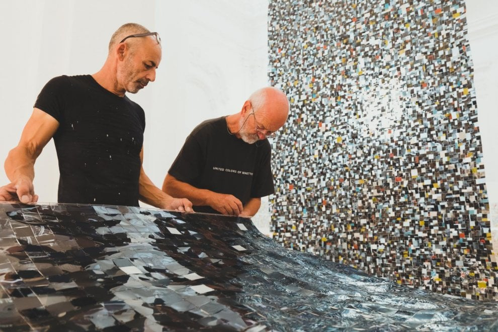 """Da Tac e radiografie a """"mosaici"""" d'arte: il talento di Bruny Sartori in mostra al Castello"""