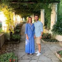 Anacapri: i reali di Svezia in visita a Villa San Michele