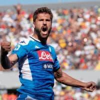 Napoli incontenibile a Lecce:  1-4