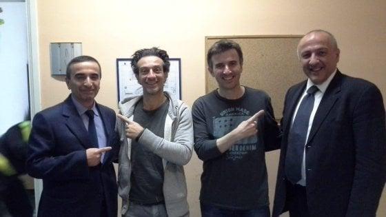 Ficarra e Picone, non solo risate a Salerno: questore e vice omonimi dei due comici