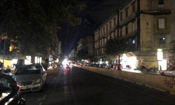 """""""Corso Umberto al buio, noi abbandonati dal Comune"""""""