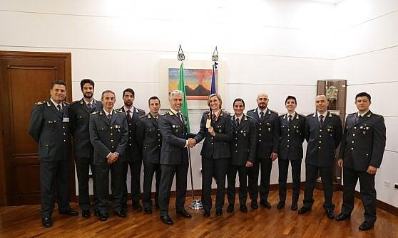 Guardia di Finanza, alla caserma Zanzur Antonietta Di Martino, medaglia di bronzo a Berlino 2009