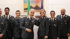 Alla caserma Zanzur Antonietta    Di Martino, medaglia di bronzo    a Berlino 2009