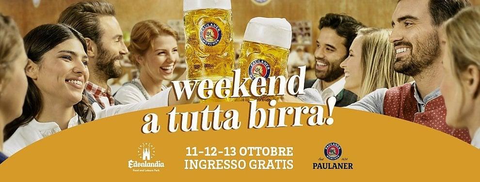 """Edenlandia, un """"weekend a tutta birra"""""""