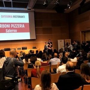 """A Salerno la pizzeria più social d'Italia: a """"I Borboni"""" il premio Hospitality Social Awards"""