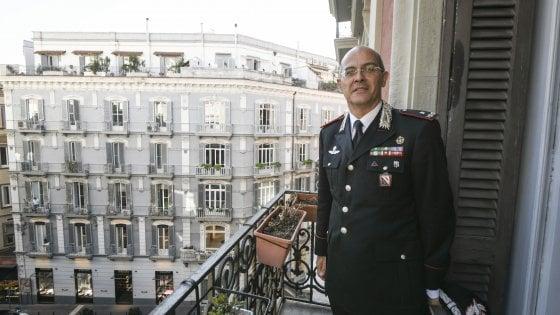 """""""Controllate i vostri figli, troppi coltellini in tasca"""", il comandante dei carabinieri La Gala parla ai genitori"""