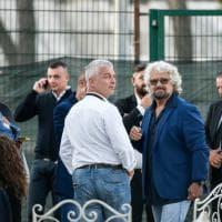 Italia a 5 stelle, Grillo e Di Maio alla Mostra d'Oltremare