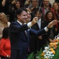 Avellino, Conte show al Conservatorio: dirige l'orchestra