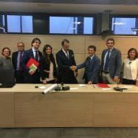 Tirocinio, corsi per gestori di crisi e formazione culturale: firmate le convenzioni tra avvocati napoletani e Università Pegaso