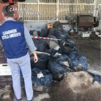 Terra dei fuochi, scoperti a Giugliano  65 metri cubi di rifiuti stoccati illecitamente