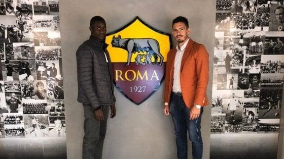 Il sogno si avvera. Una promessa dell'Afro Napoli United approda alla Roma: il senegalese Maissa è giallorosso