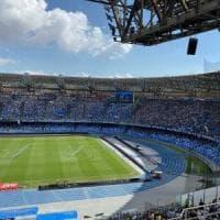 Stadio San Paolo, De Laurentiis firma in Comune la convenzione