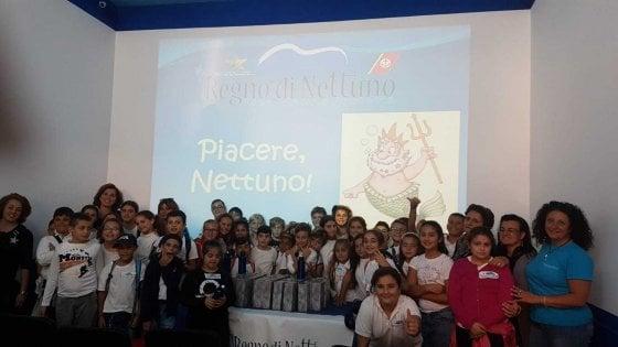 """""""Piacere, Nettuno"""": così gli studenti di Barano d'Ischia imparano ad amare il mare"""