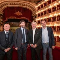 Napoli, Dario Franceschini incontra Stéphane Lissner al San Carlo