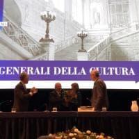 Stati Generali della Cultura, seconda giornata: omaggio floreale alla Purchia