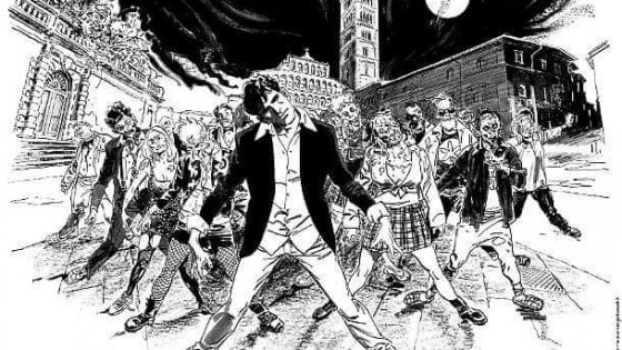 Dylan Dog e la Zombi Dance di Michael Jackson secondo Bruno Brindisi