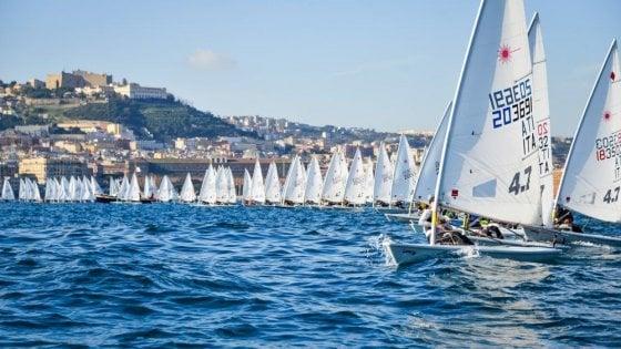 Italia Cup Laser, a Napoli torna la grande vela