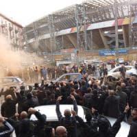 Napoli contestato al San Paolo dai tifosi: