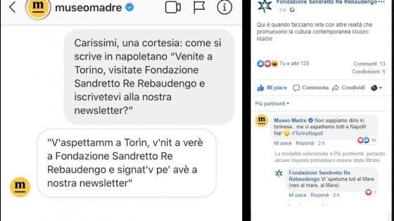 """Da Torino a Napoli, i Musei esaltano il dialetto: """"Come si invita in napoletano?"""""""
